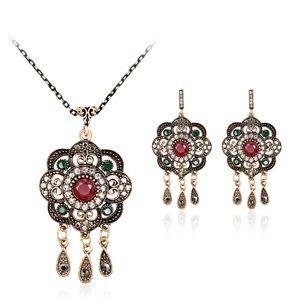 LUOTEEMI Sterling Silver Jewelry Set